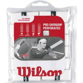 Pro Overgrip Perforated WRZ477500 White (x12)